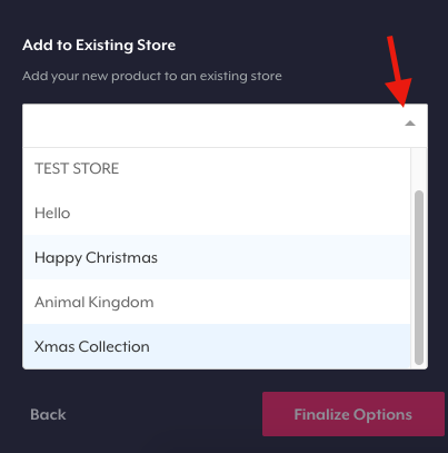 how to add something to teespring store