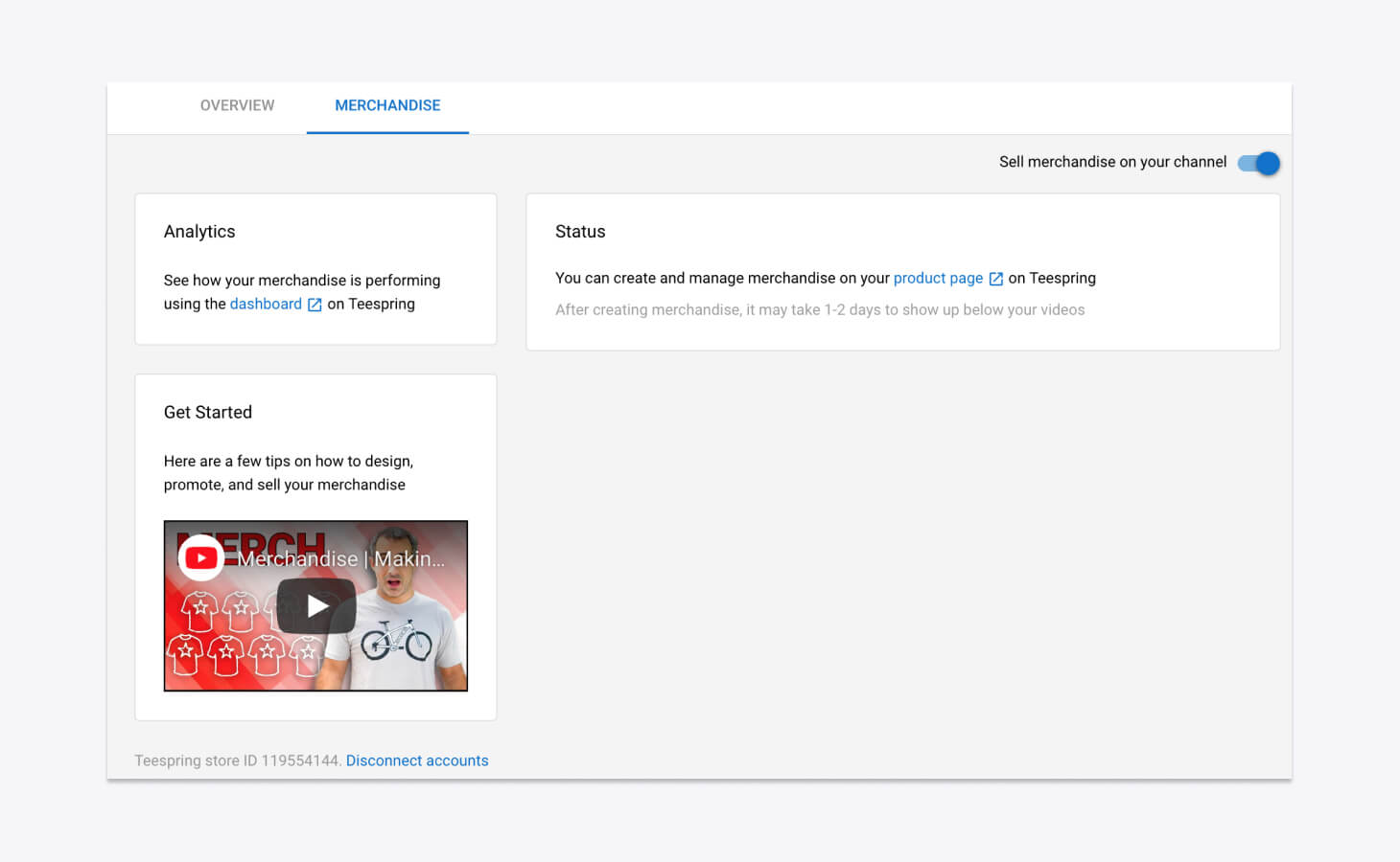 Dashboards Using YouTube Integration