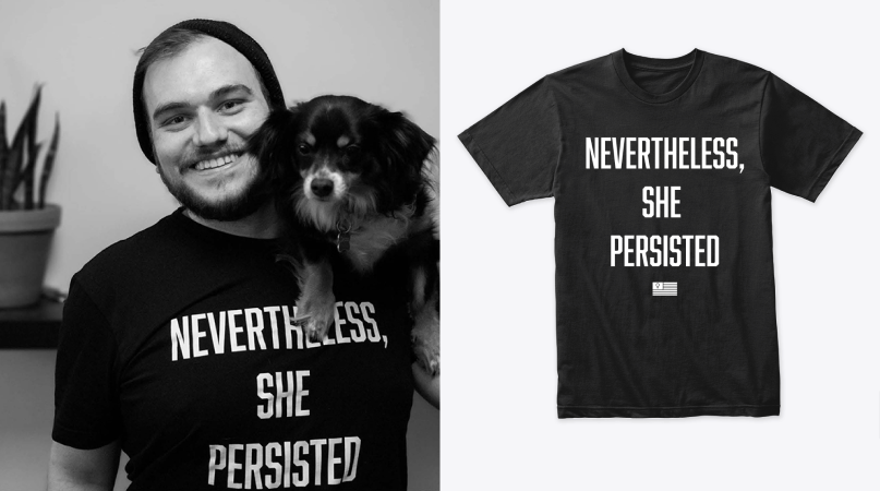 she persisted merch