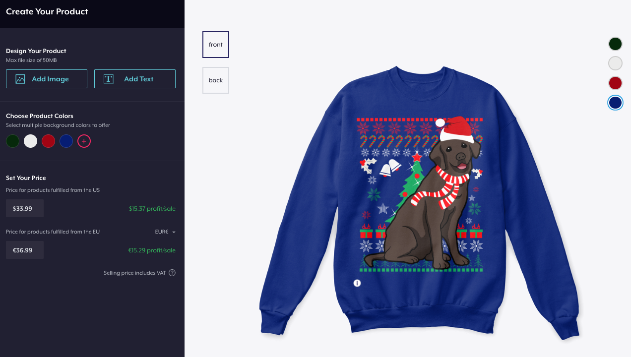 National Christmas Jumper Day 2019.Teespring S Ultimate 2019 Holiday Sweater Guide Free